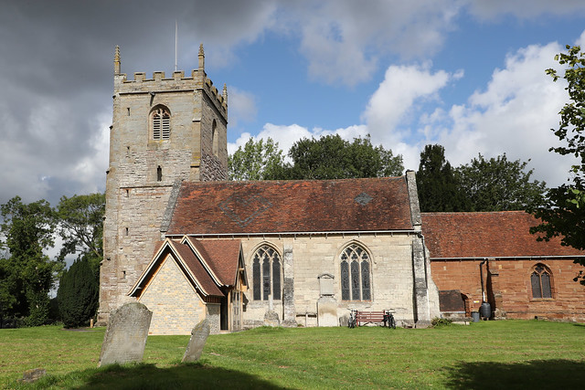 Church of the Nativity of the Blessed Virgin Mary, Studley