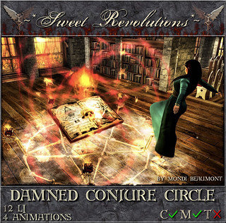 ~*SR*~ Damned Conjure Circle