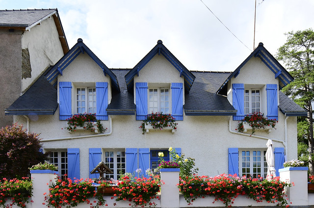 Malestroit, Bretagne, France, August 2019 304