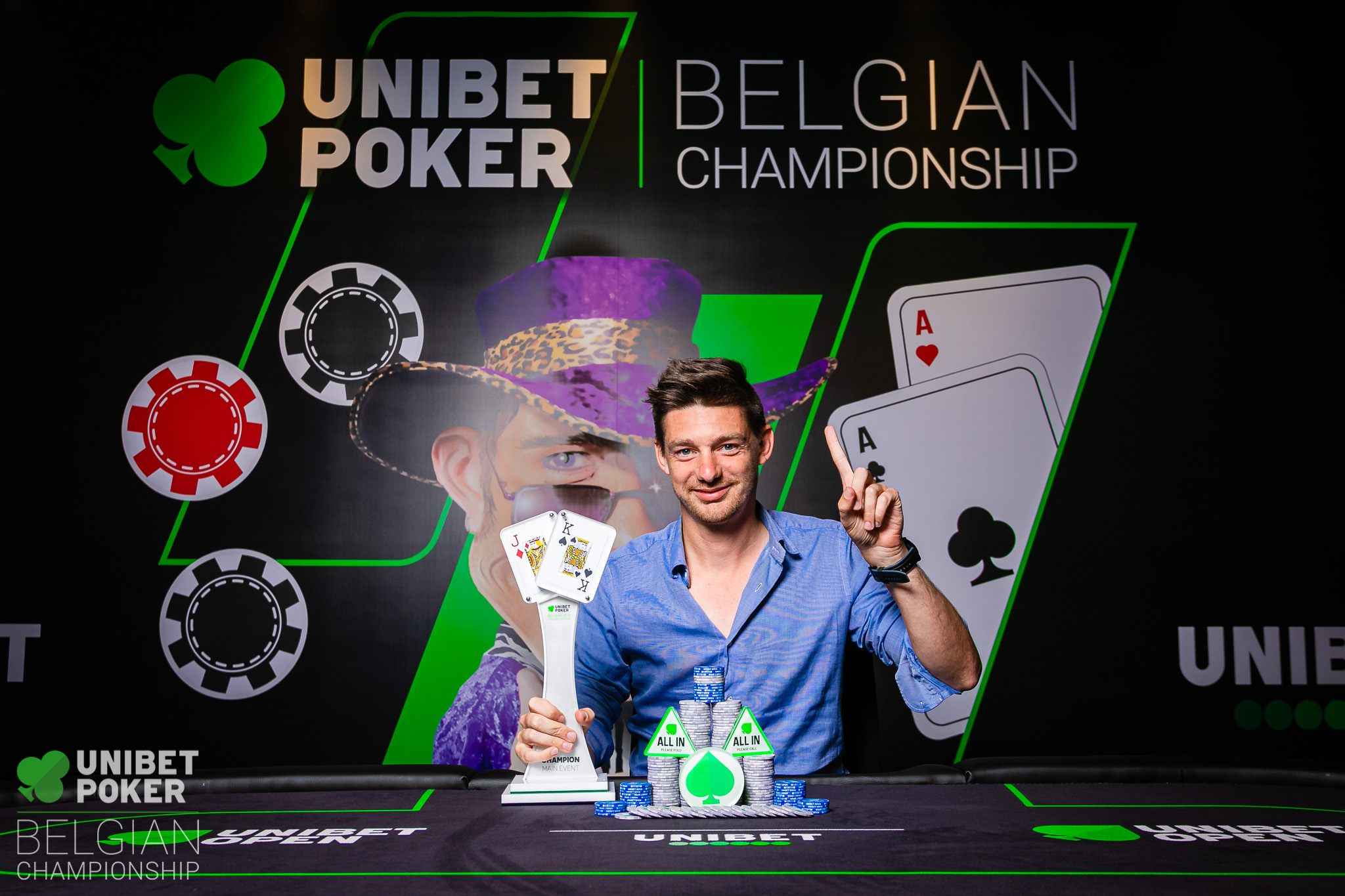 Unibet Poker Belgian Championship 2019 - Main Event (Final Day) 059 ((C) Tambet Kask 2019)