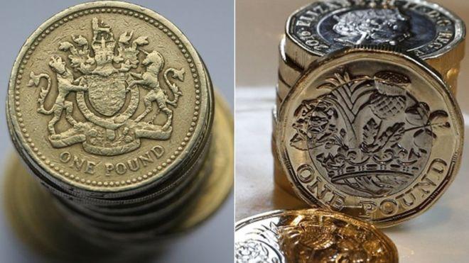 Obsolete British coins