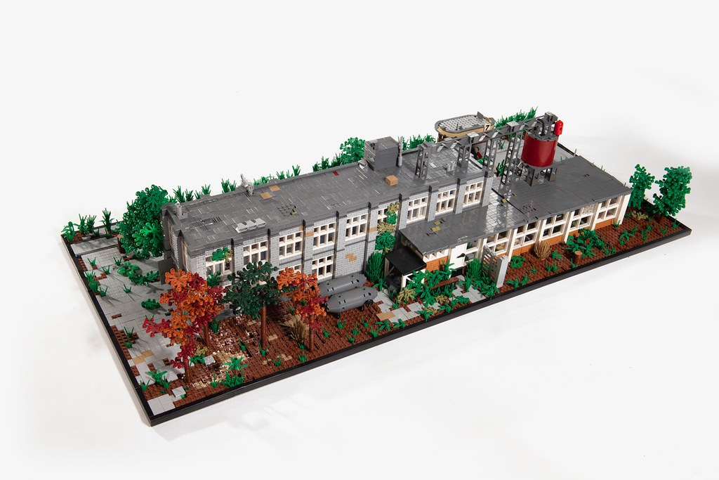 Lego abandoned old factory @brickisme
