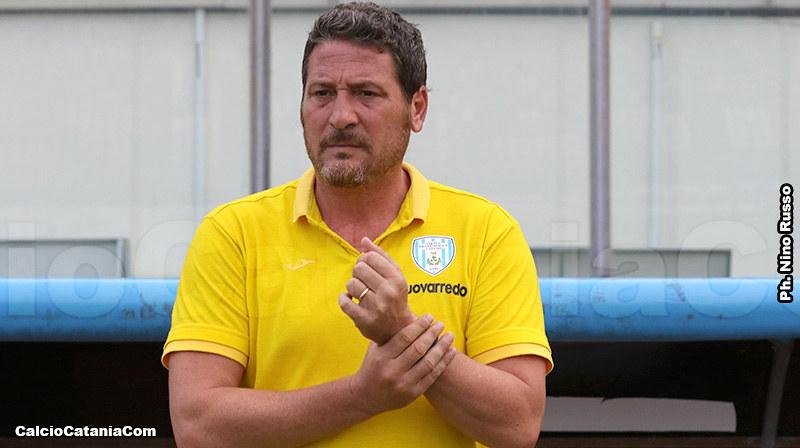 Bruno Trocini, tecnico della Virtus Francavilla