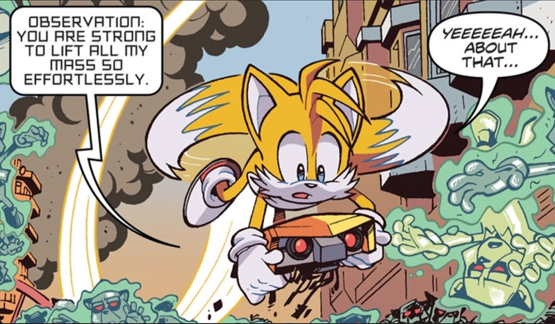 IDW Sonic The hedgehog Issue 20 Preview page 3
