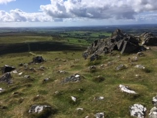 View from Staple Tor