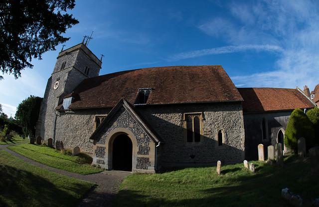Bucklebury Church.
