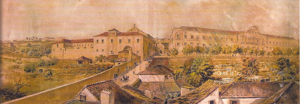 Imagem III - Palácio e S. Bento do lado da Calçada da Estrela