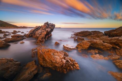 ndfilter nisifilters adelaide australia australianlandscapephotographereverlookphotography dawn longexposure osullivanbeach rocks seascape sky southaustralia sunrise
