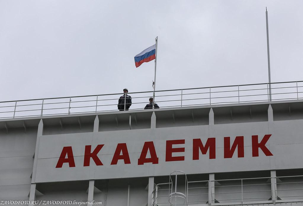 Как провожали ПЭБ «Академик Ломоносов» в Певек IMG_7325