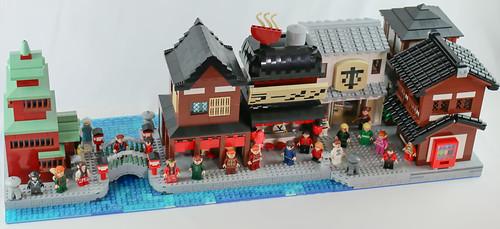 Ninjago Village style