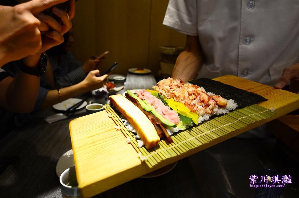 波士頓龍蝦螫海鮮太捲壽司-0003