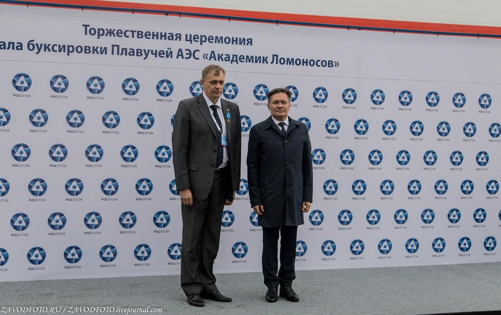 Как провожали ПЭБ «Академик Ломоносов» в Певек 999A4269