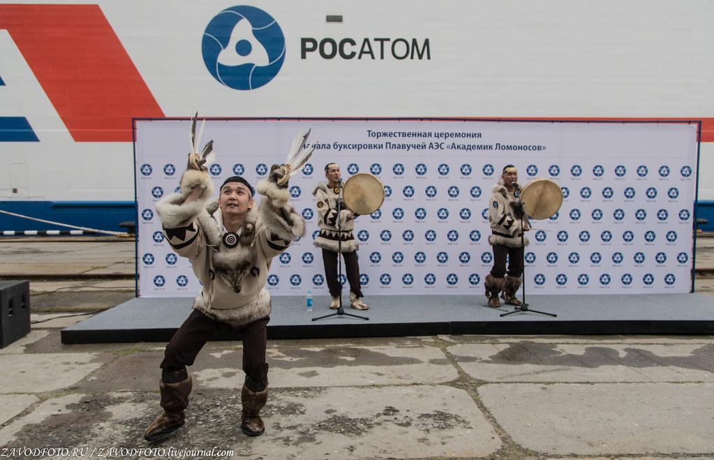 Как провожали ПЭБ «Академик Ломоносов» в Певек 999A4041