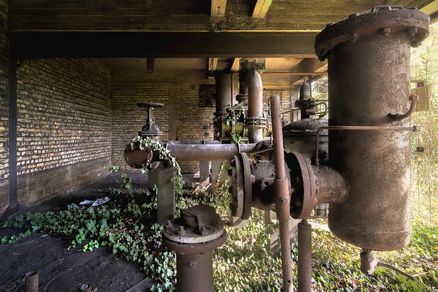 Green pump room