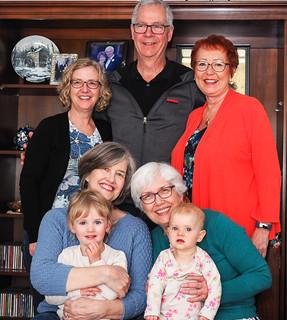 Garry, Patti, Shirley, Wendy, Kathy, Zoe & Hazel