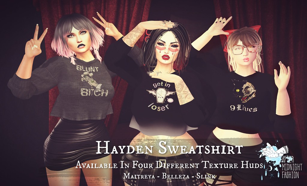 Hayden Sweatshirt Ad Large