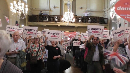 Peoples Vote Rally Newcastle Aug 19 1