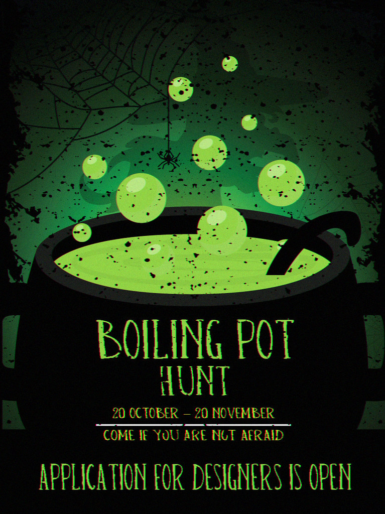 Boiling pot Hunt – Designers application