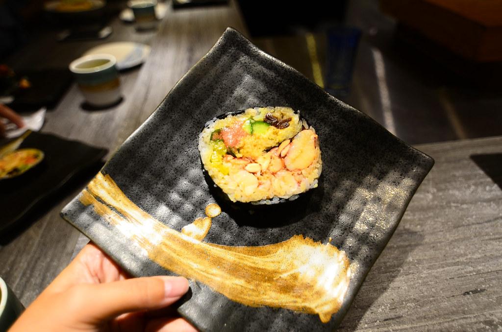 波士頓龍蝦螫海鮮太捲壽司-0001