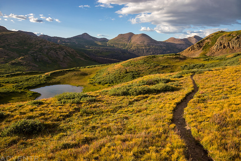 An Evening on the Continental Divide Trail