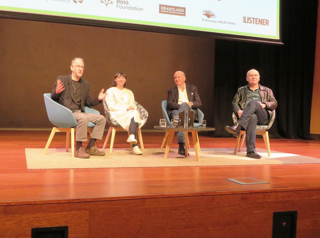 Peter Field, Jessica Maclean, Simone Winchester and Vincent O'Malley