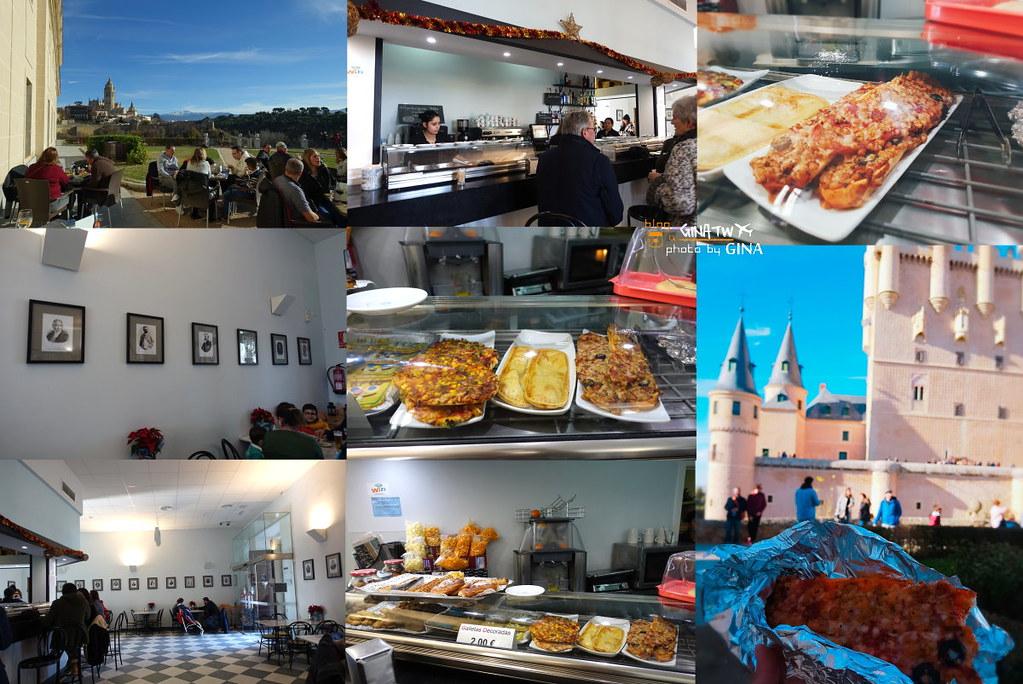 西班牙自由行》馬德里來回 塞哥維亞一日遊 迪士尼城堡靈感來源-塞哥維亞城堡、主教座堂、古羅馬水道橋(聯合國世界遺產) @Gina Lin