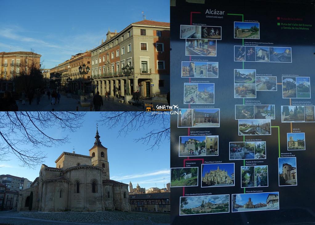 【2020塞哥維亞景點】西班牙城堡 馬德里來回一日遊 古羅馬水道橋 主教座堂 迪士尼城堡靈感來源 @GINA環球旅行生活 不會韓文也可以去韓國 🇹🇼