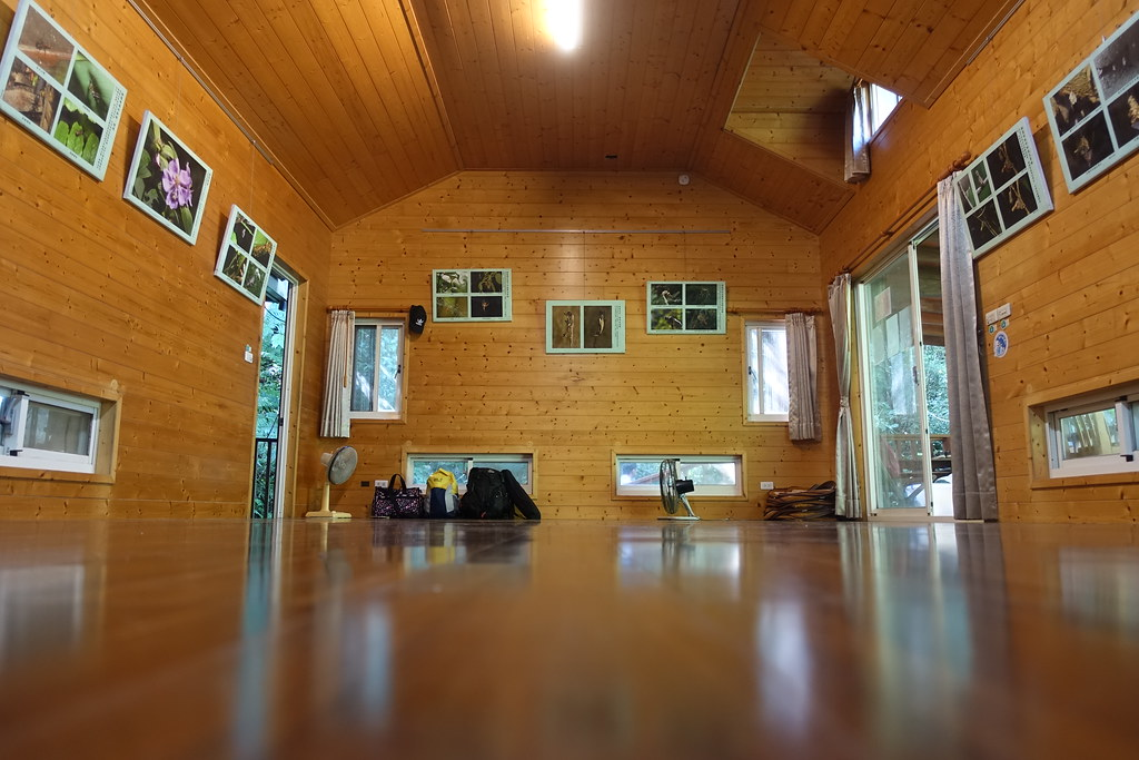 自然谷的小木屋。攝影:許芷榕