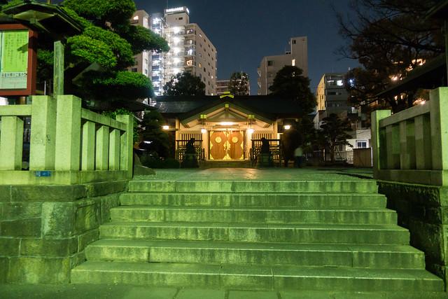 Tenso-Suwa Shrine, Shinagawa, Tokyo