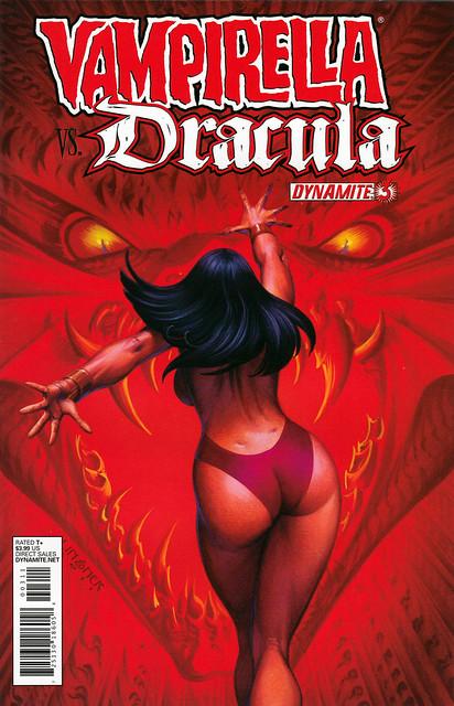 Vampirella vs Dracula (Dynamite) 3