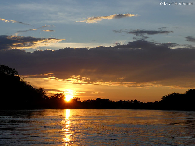 Sunset over Guayabero river, Meta department, Colombia. Next time you will come with me ?