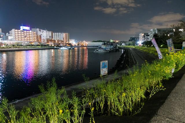 Katsushima Canal, Shinagawa, Tokyo