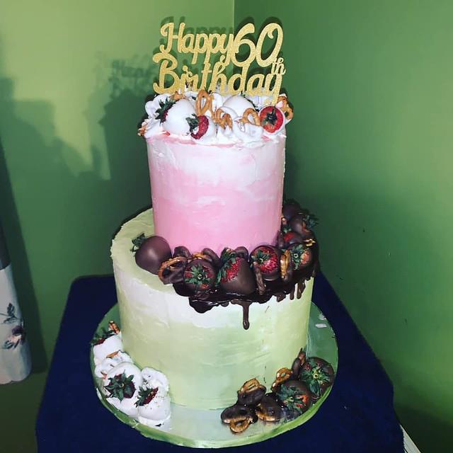 Cake by Elizabeth's Custom Bakes