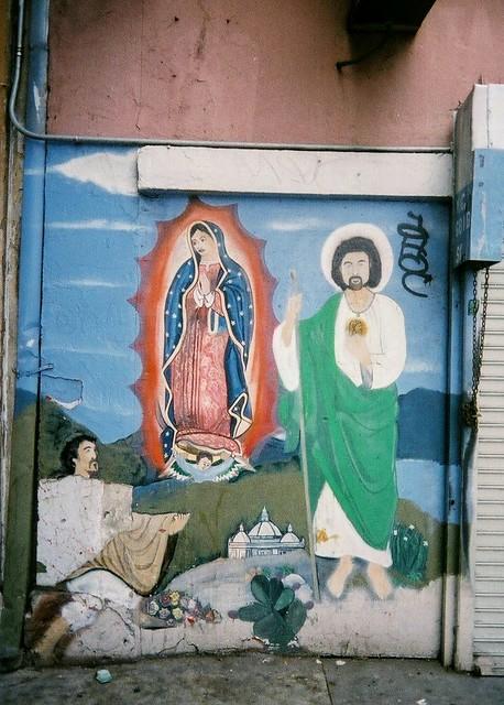 Juan Diego, the Virgin and San Judas Tadeo