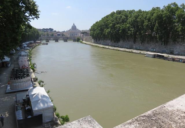 River Tiber (Rome, Italy)