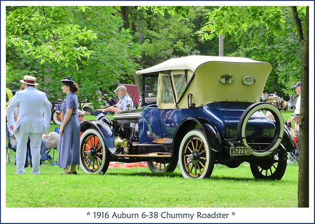 1916 Auburn 6-38 Chummy Roadster