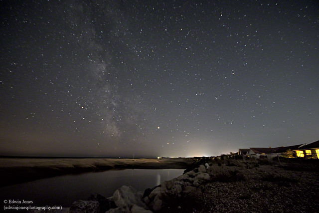 Milky Way at Pagham Beach