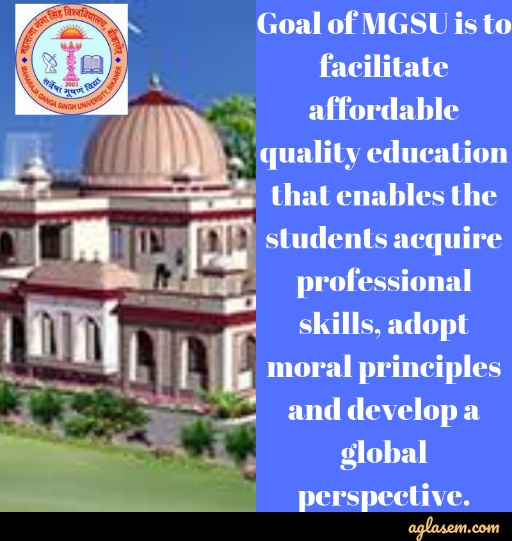 MGSU Admission 2020 | Maharaja Ganga Singh University Admission - Application Form (Released), Fees Structure