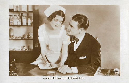 June Collyer and Richard Dix in The Love Doctor (1929)