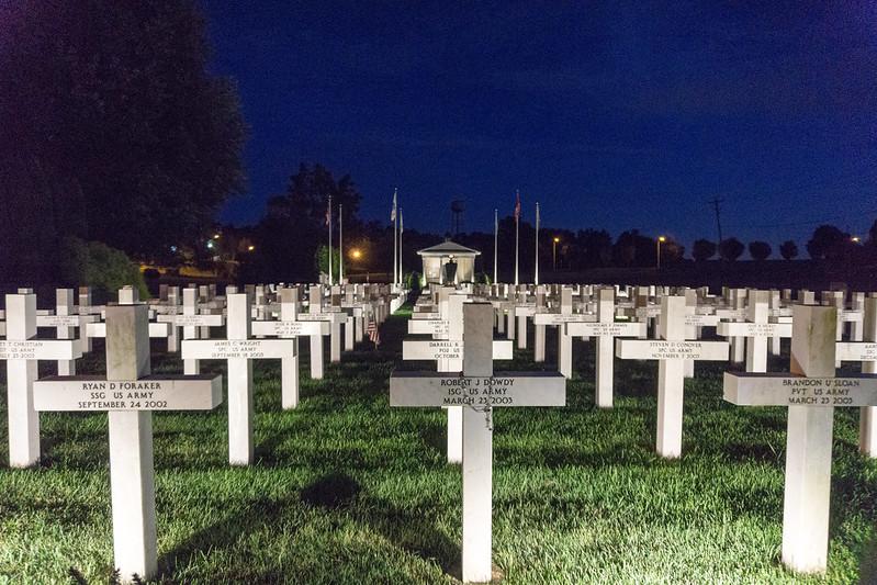 Ohio Fallen Heroes Memorial - Delaware County, Ohio, Aug. 25, 2019
