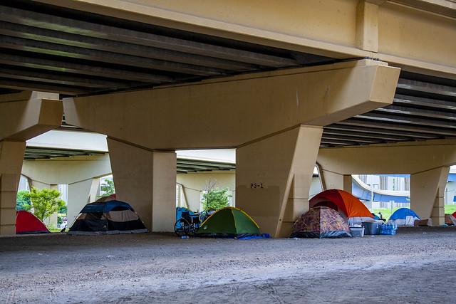 Homeless Encampment Milwaukee Wisconsin 8-30-19_2534