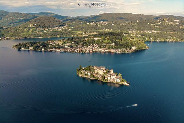 Isola di San Giulio - Lago d'Orta (Italy)