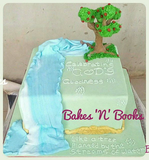 Cake by Bakes 'N' Books