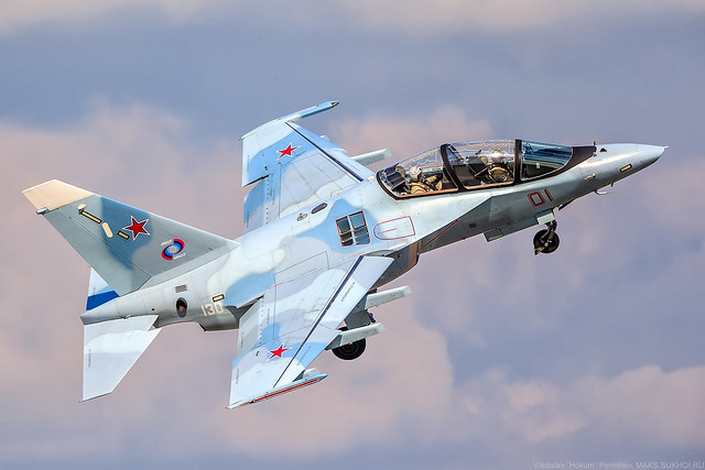 Yak-130 with SOLT-25