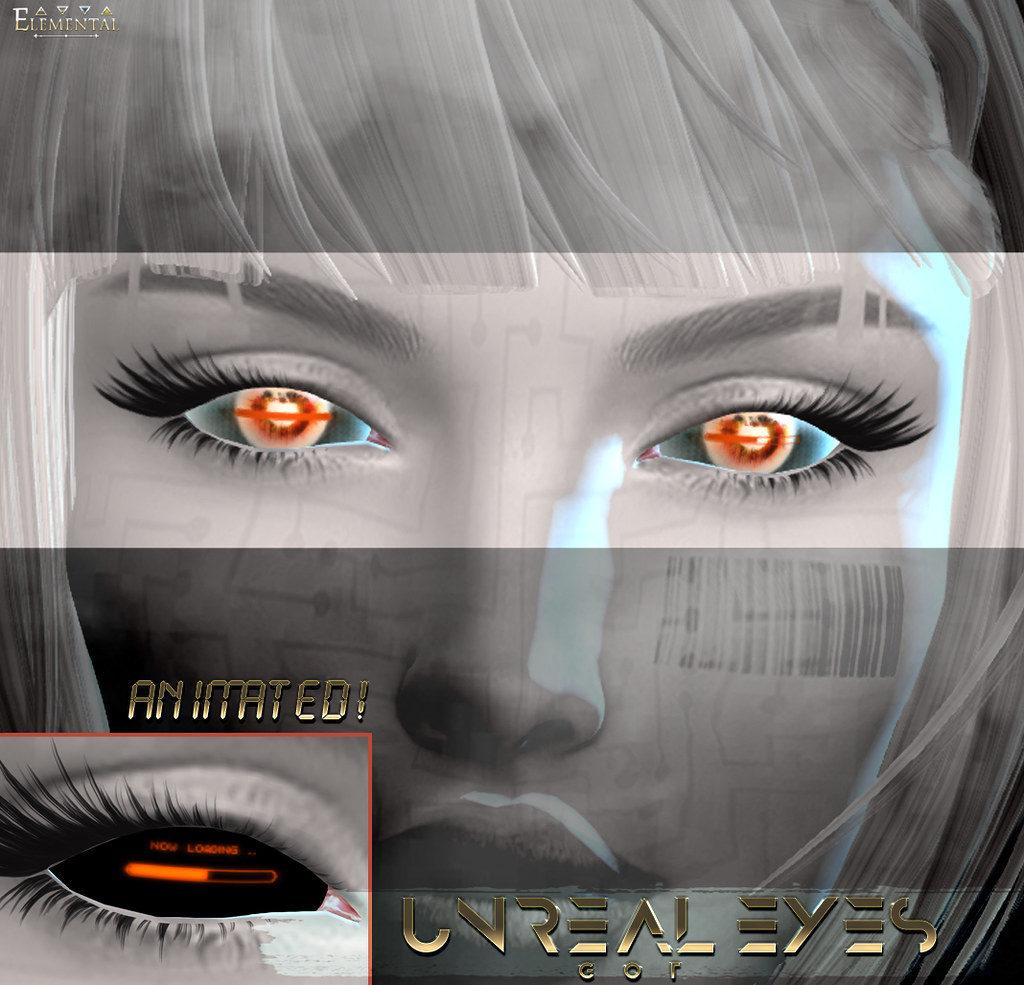-Elemental- 'Unreal Animated Eyes' GOI Advert