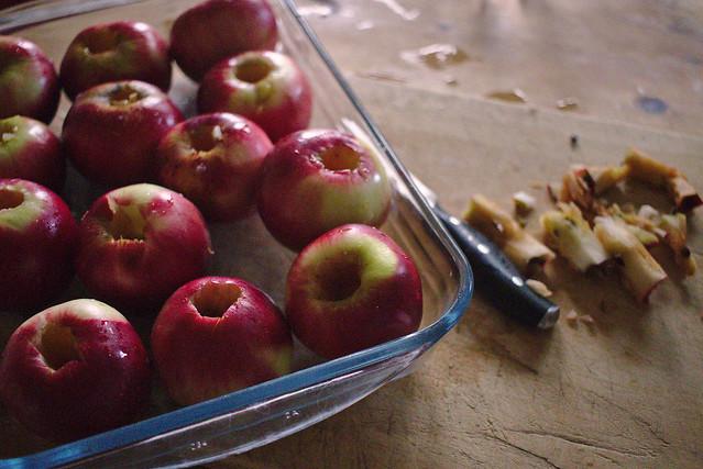 Recette de pommes au four