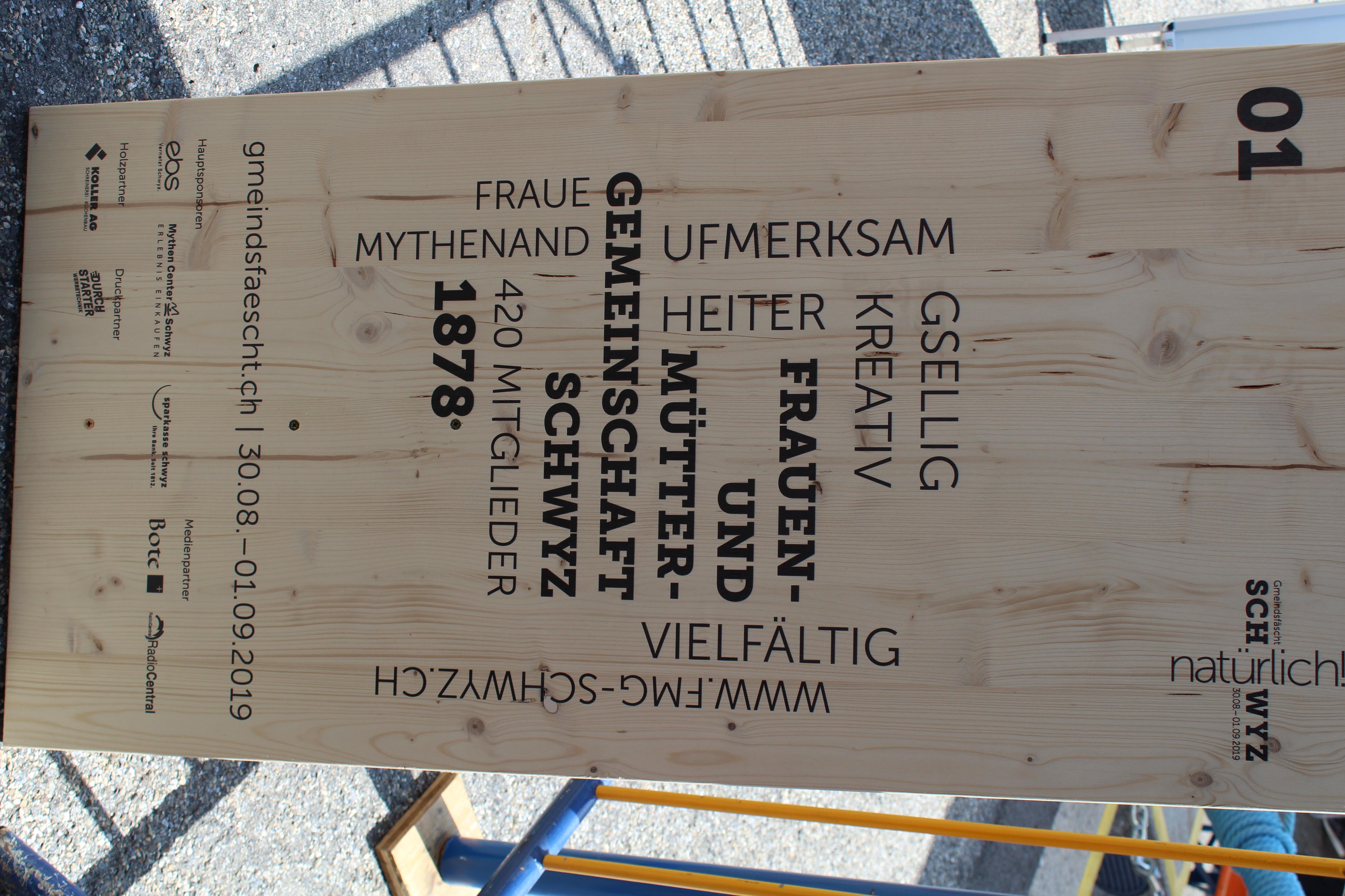Märlinachmittag mit Jolanda Steiner am Gmeindsfäscht Schwyz, 31.8.19