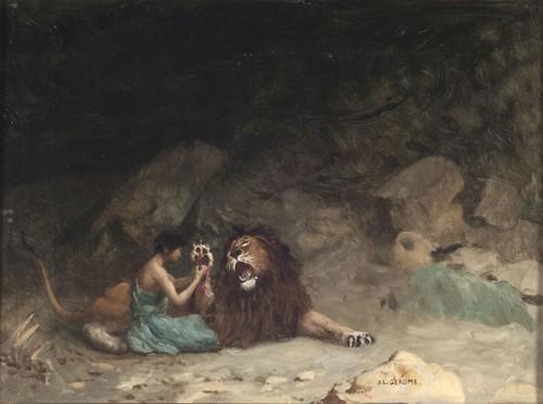 Androcles y el león agradecido