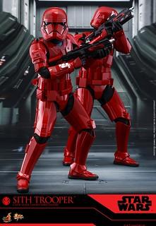 Hot Toys - MMS544 -《STAR WARS:天行者的崛起》西斯士兵 Sith Trooper 1/6 比例人偶作品完整發表!