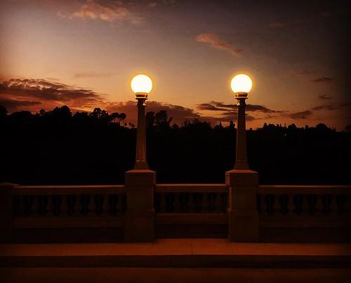 johnvandelamp lalomabridge summer bridge socal sunset pasadena ©karolfranks karolfranksgmailcom karolfranks